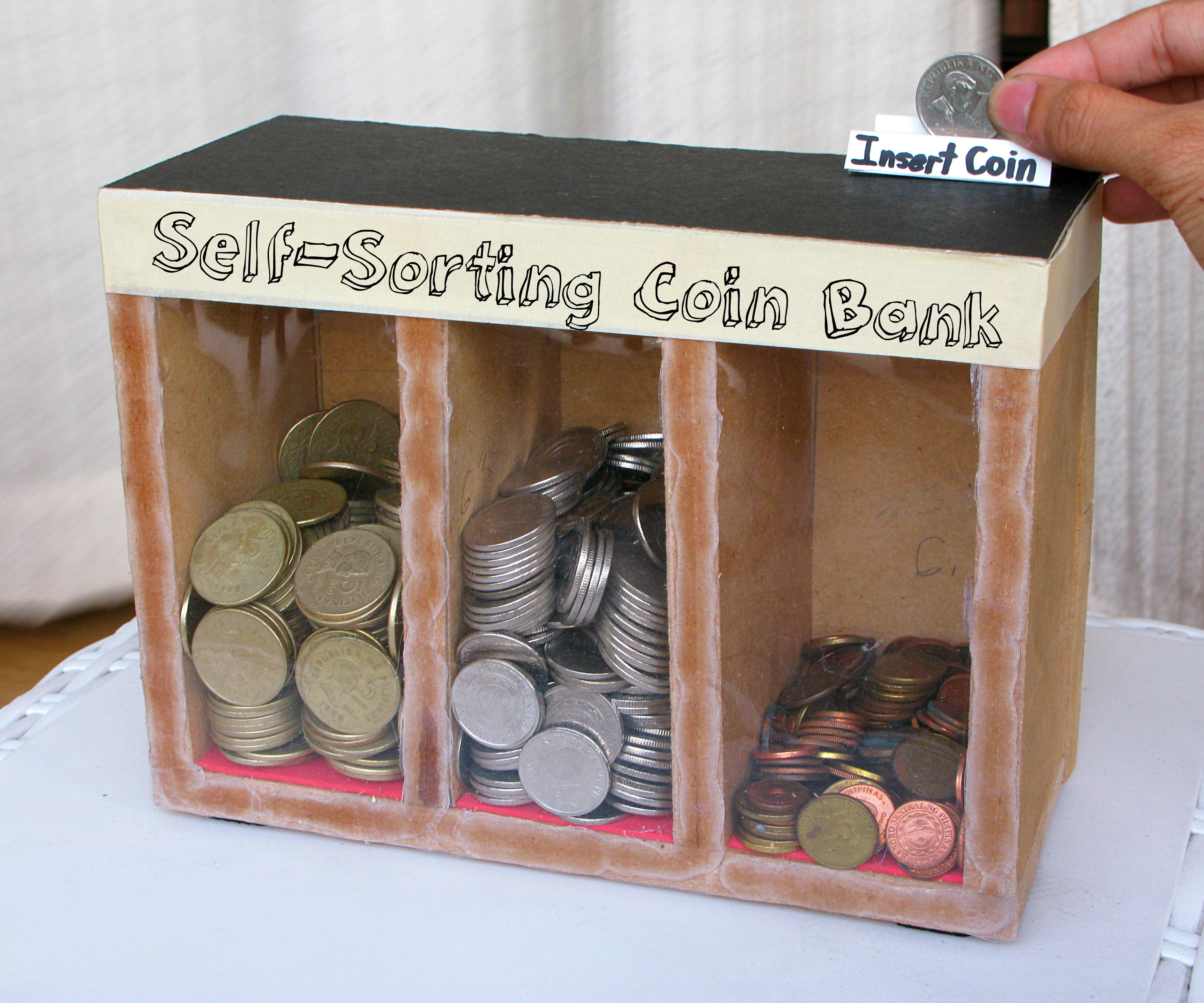Coin Sorting Machine (Runs on Gravity): 10 Steps (with Pictures)