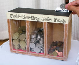 Coin Sorting Machine (Runs On Gravity)