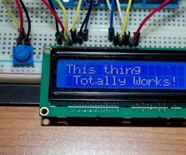 Using LCD Display With an Arduino