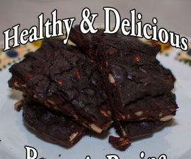 Tasty and Healthy Brownie