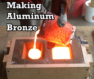 Making Aluminum Bronze: Melting Copper and Aluminum