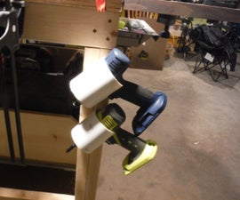 PVC Drill/Tool Holder
