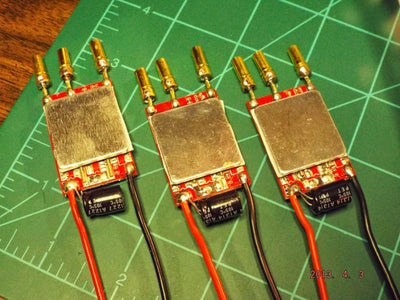 Build Step - Electronic Speed Controller
