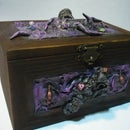 Storage Box dice roll, inspired D&D and H. P. Lovecraft.