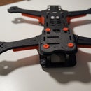 Firefly Pro - Fully 3d printed racing drone