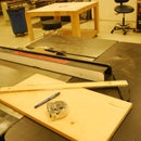 how to make a push arm for the table saw
