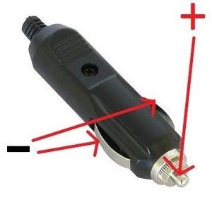 Wiring the Cigarette Lighter Plug