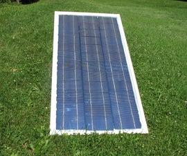 using Solar Cells, To make Glass frame DIY Solar Panel