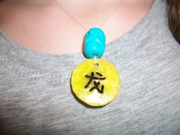 Chinese Zodiac Clay Pendant