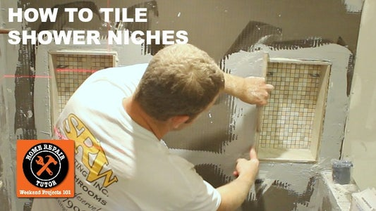 How to Tile a Shower Niche