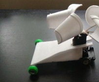how to make a wind powered car