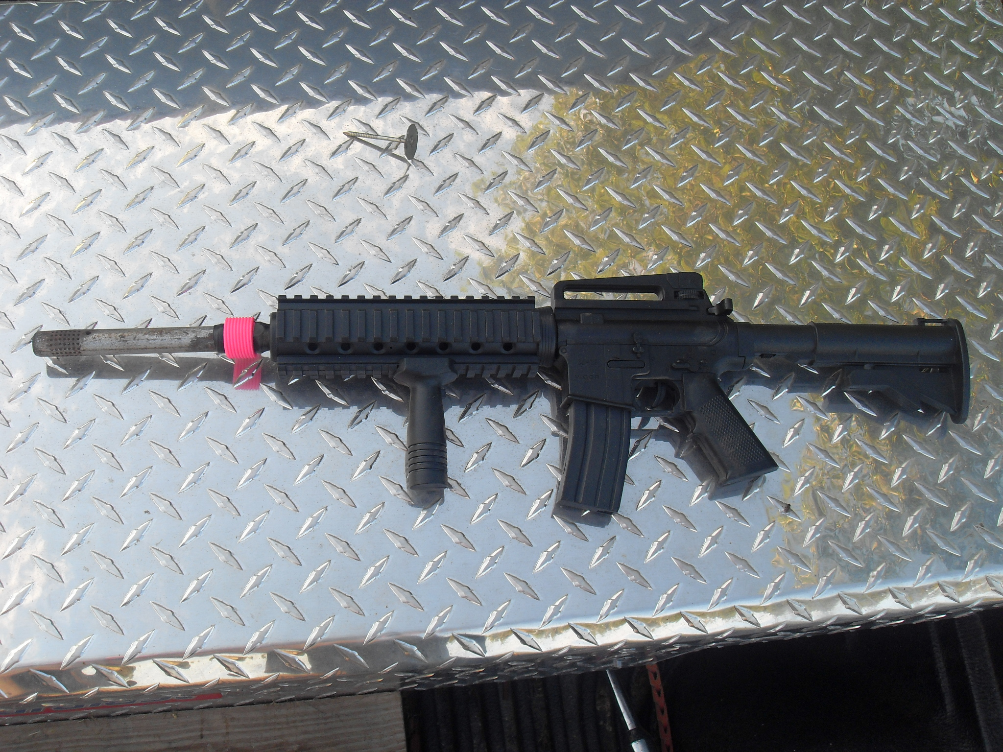 Picture of How to Make a Flash Suppresor/silencer for an Airsoft Gun