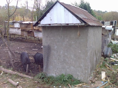 Build a Pigsty Out of Empty Bottles