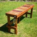 Pallet Wood Top Bar