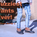 Making Fuzzy Jeans From Scrap Fabric