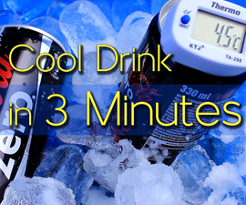 Cool Drinks in 3 Minutes