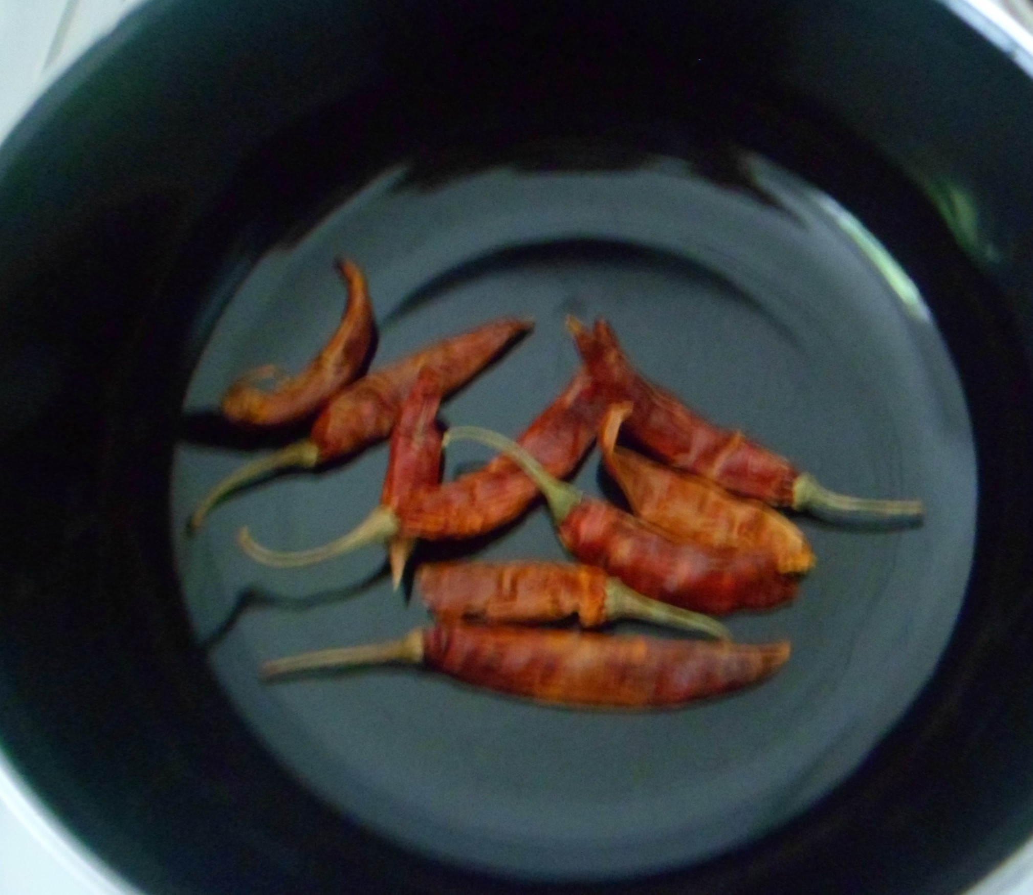 Picture of DRY ROAST RED CHILLIES