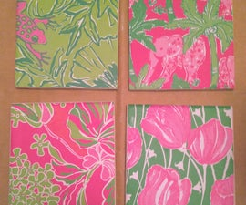 Lilly Pulitzer Coasters