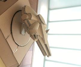 Rotatable Model Display Stand