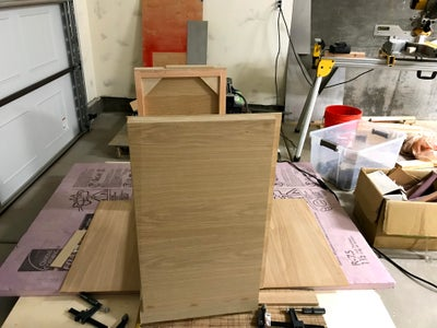 Attach Ply to Inside of Side Panels