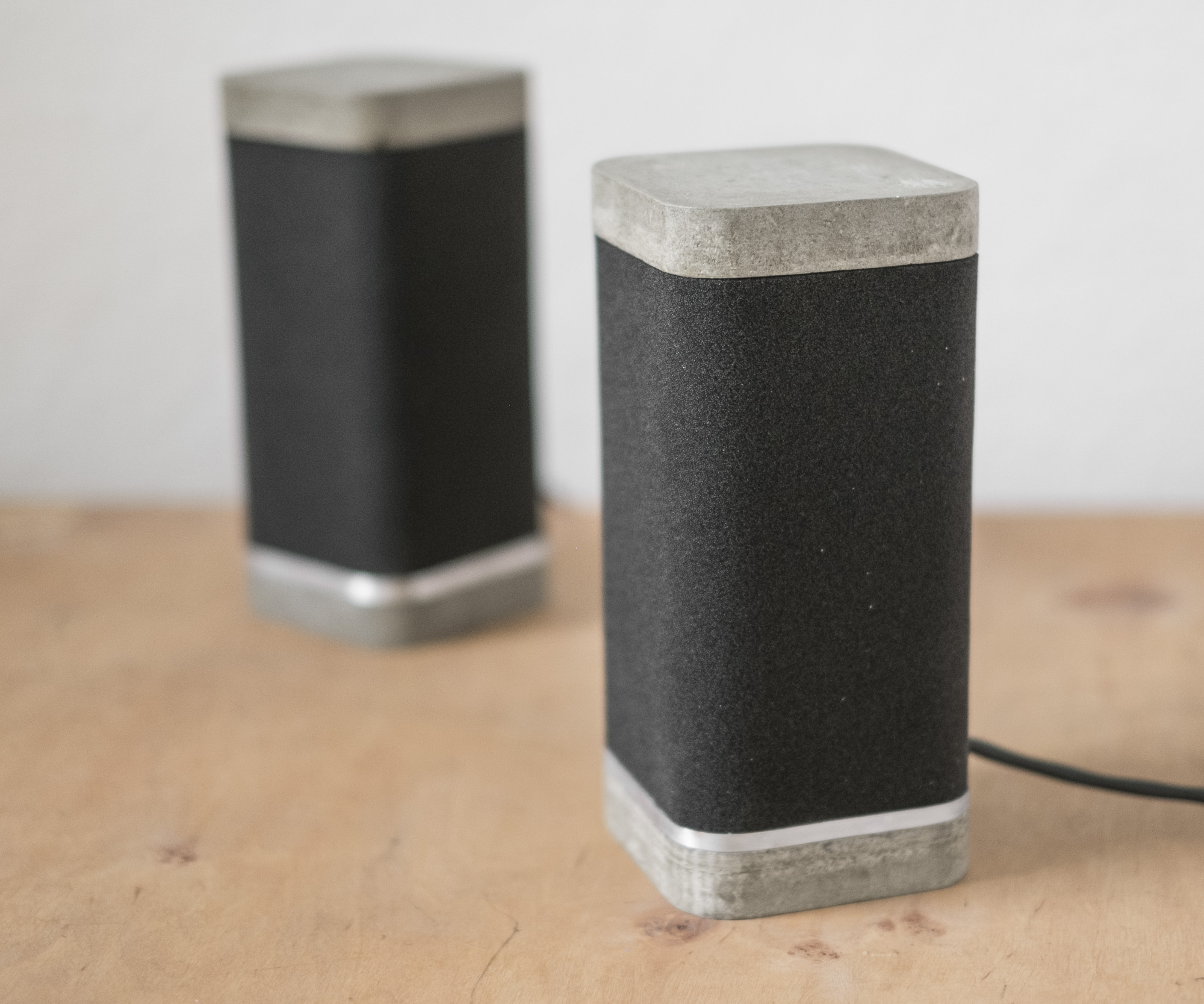 Picture of Logitech X-230 Concrete Speaker Mod