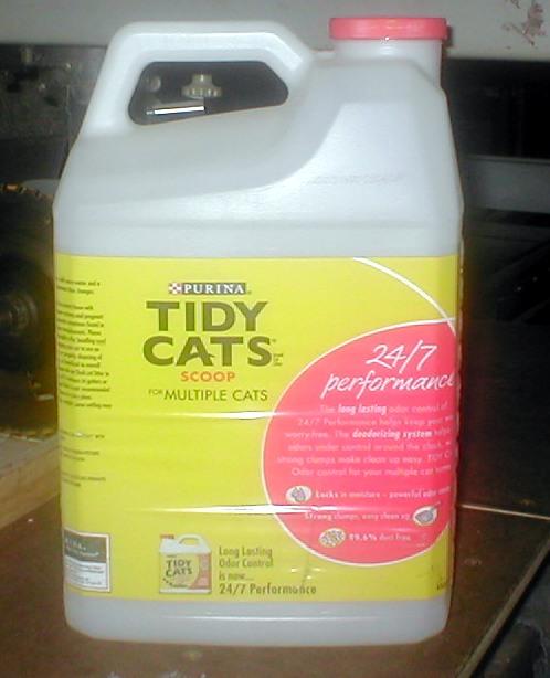 Picture of Kitty Litter Bottle Breadboard Storage Case