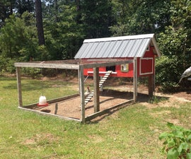 Chicken Coop (Can Hold Up To 5)