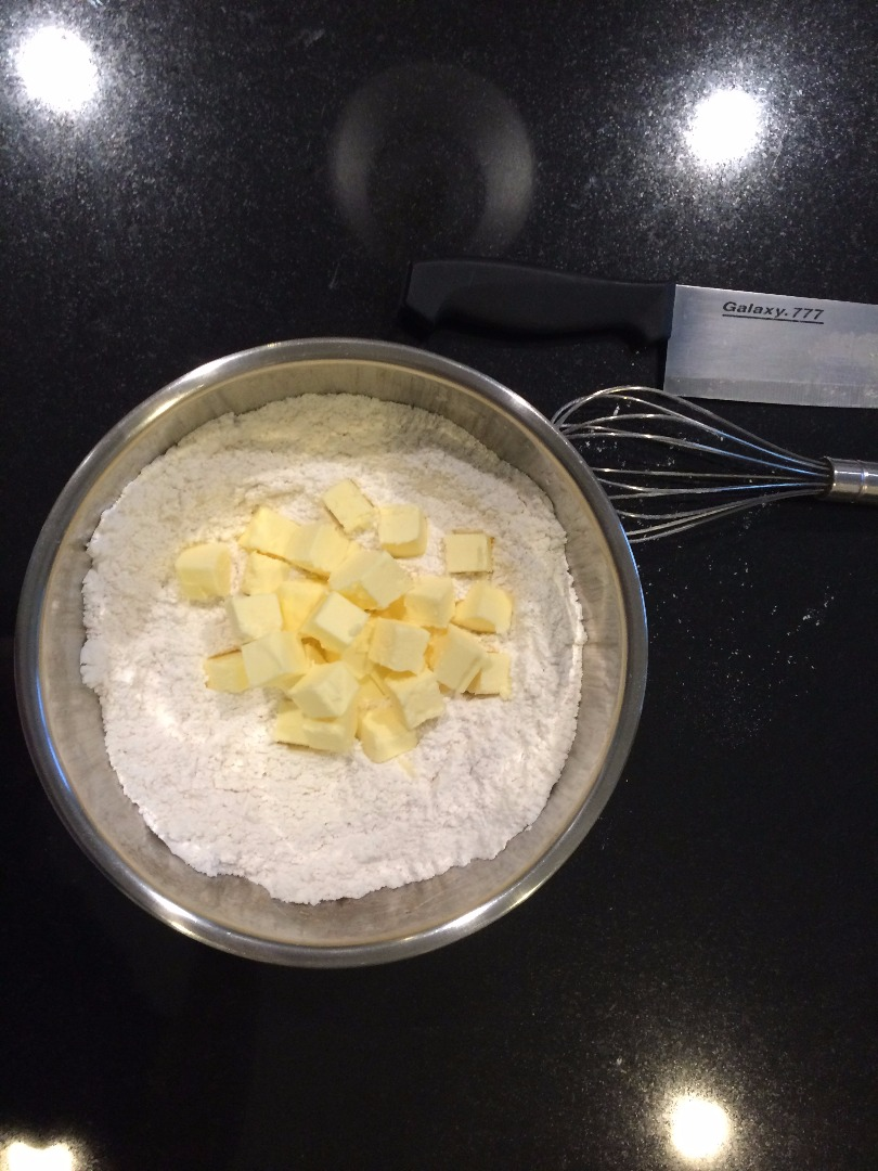 Picture of Cut Butter Into the Dry Ingredients
