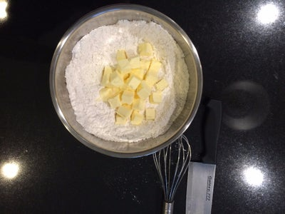 Cut Butter Into the Dry Ingredients