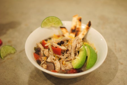 Souper Simple Chicken Tortilla Soup