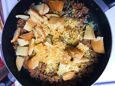 Cook Ingredients in One Pan
