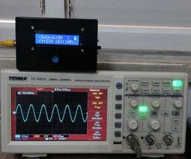 Portable Function Generator on Arduino