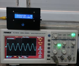 Portable Function Generator on Arduino