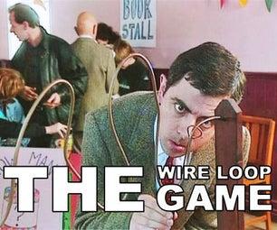 Hand Eye Coordination Game--Wire Loop Game