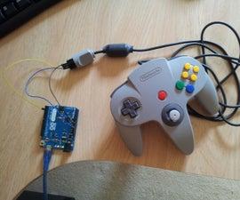 Turn an N64 Controller Into a USB Gamepad Using an Arduino Leonardo