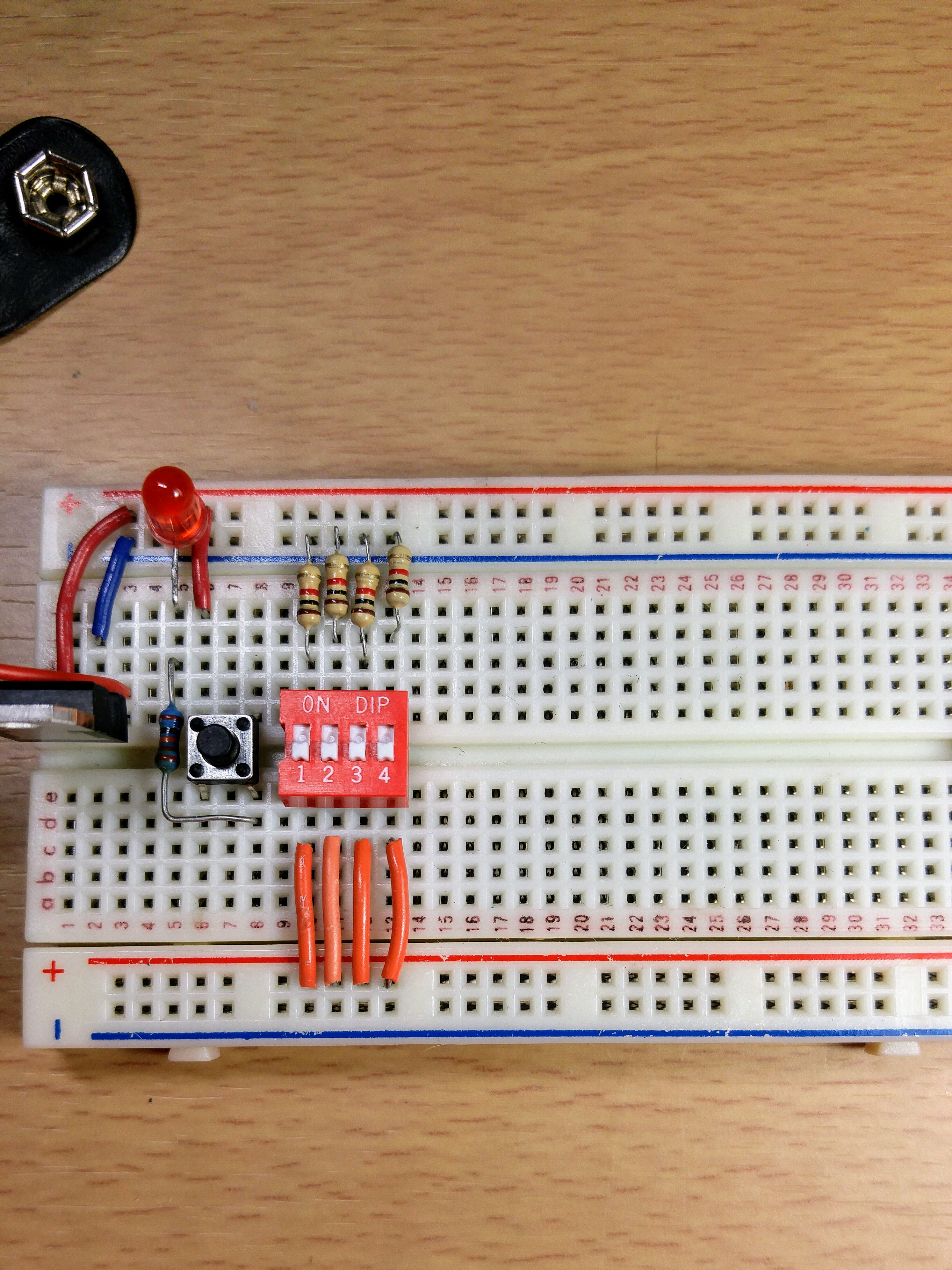 Picture of Setting Up the DIP Switch