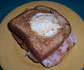 """Only Have """"Eye"""" For You Breakfast Sandwich"""