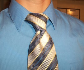 How to tie a tie (windsor knot)