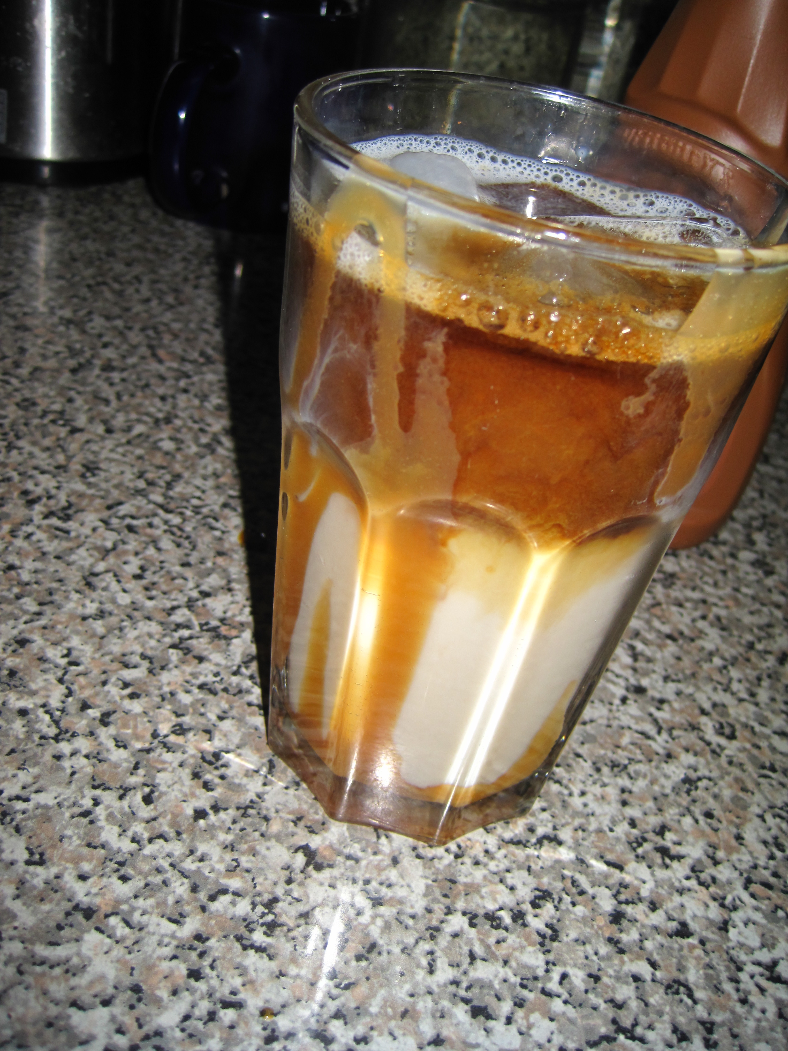 Picture of How to Make a Fake Sbux Iced Caramel Macchiato