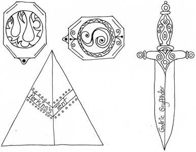 THE SWORD OF GODRIC GRYFFINDOR: