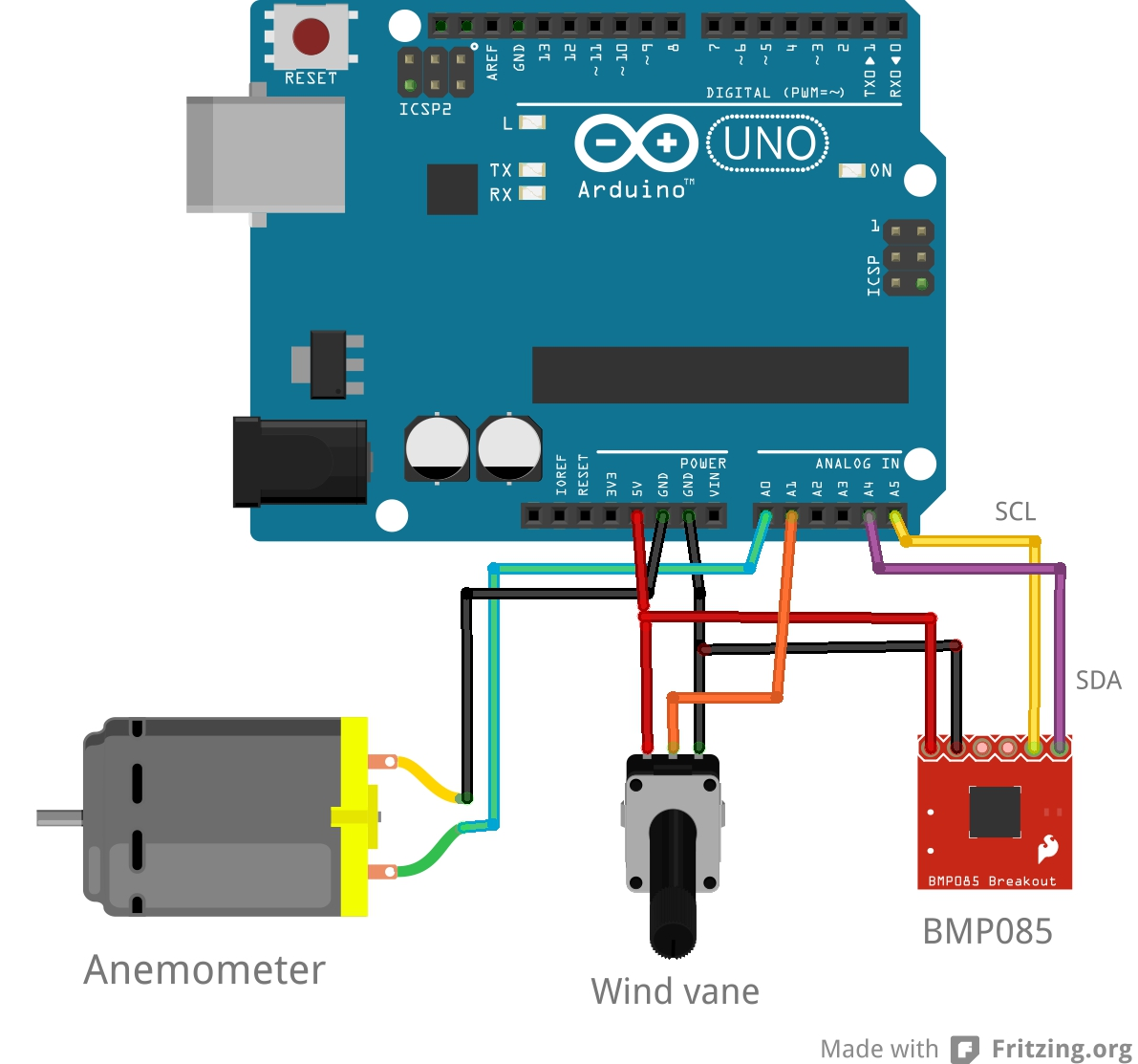 Picture of Weather Station Arduino and Processing