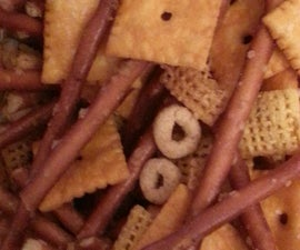 Addicting Garlic Butter Snack Mix