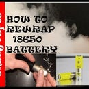 How to Rewrap 18650 Battery