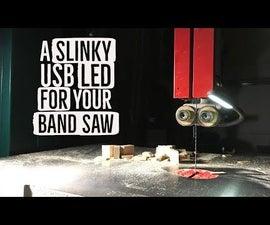 Band Saw USB LED With Slinky Cord