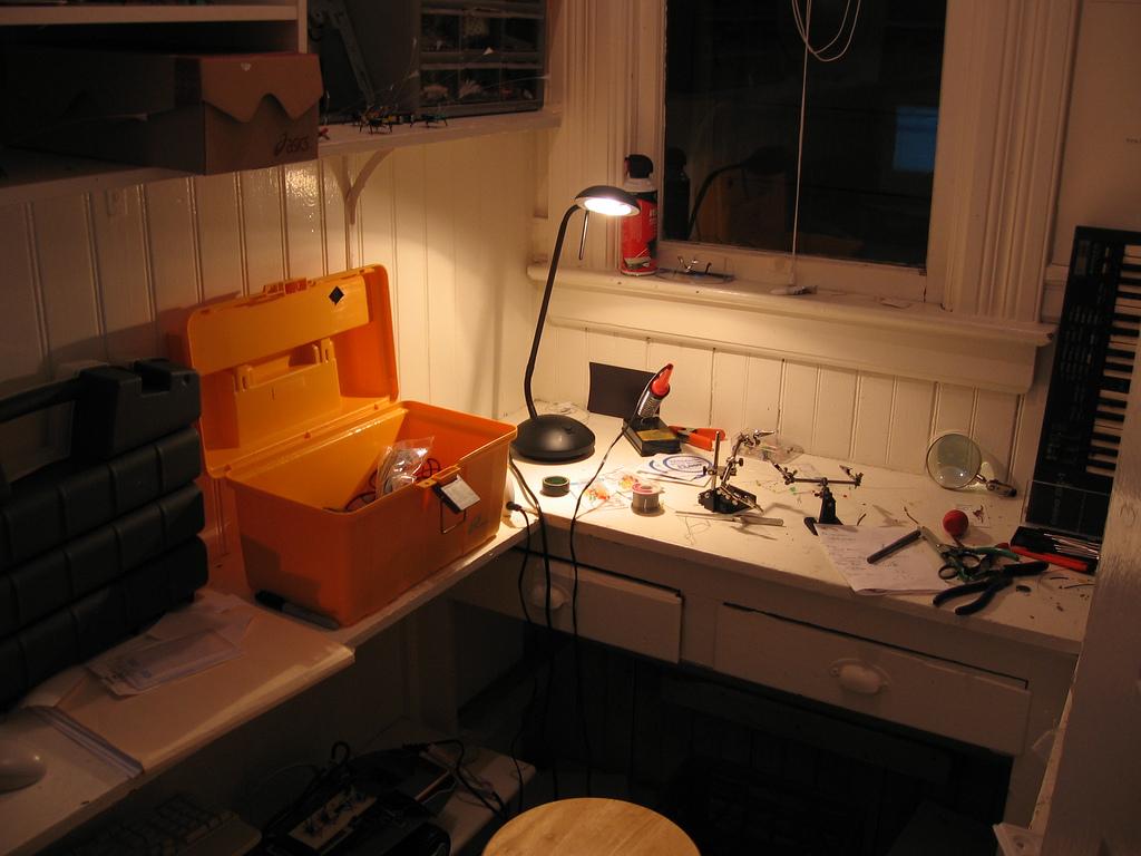 Picture of Ken's Workspace