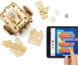 LOFI Blocks - Control Arduino Robot With Mobile App