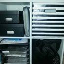 Cube Cardboard Box for Shelf Storage