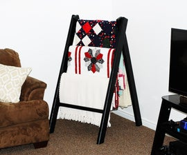 Simple Blanket Stand