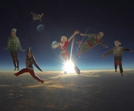 Make the Most EPIC Christmas Card Ever!! ( Also How To Launch And Recover A High Altitude Balloon)