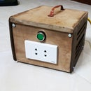 How to make a Tiny Transformer kiosk by wood.